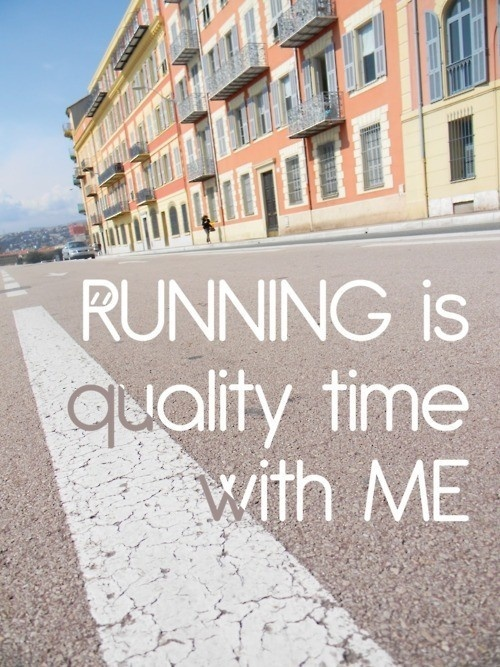 Running is my meditation when I Cannot Meditate
