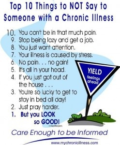 What to Say/Not to Say with Someone with Chronic Pain