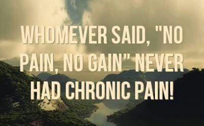 NO Pain, NO Gain = Bullshit