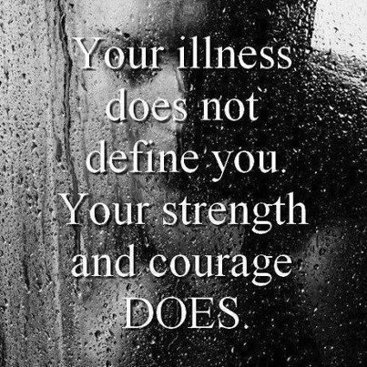 Strongest People I ever met had an invisible illness