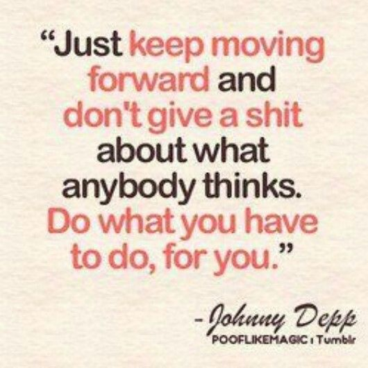 Keep Moviing Forward