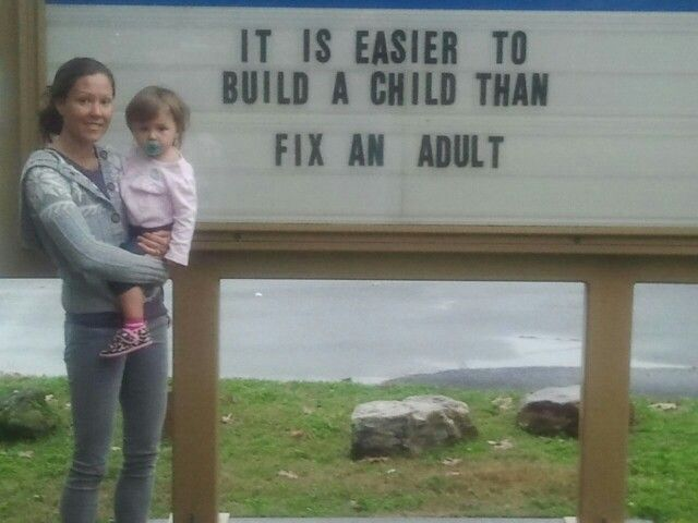 Easier To Build a Child than Fix an Adult