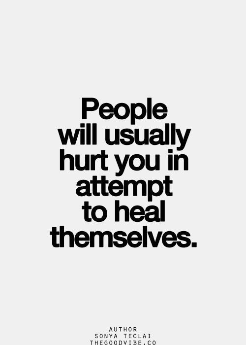 Image result for hurt people hurt people