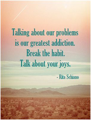 Talk About Your Joys!