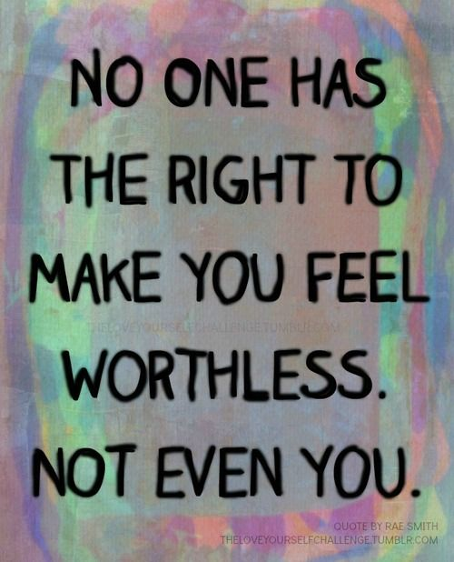 YOU are Worth so Much!